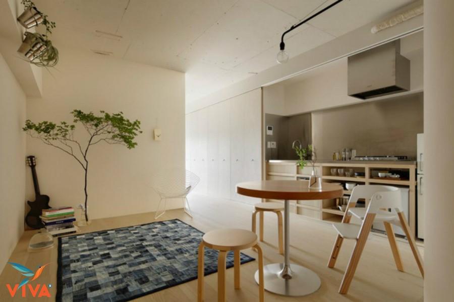 Tìm hiểu phong cách trang trí nội thất phòng khách của người Nhật